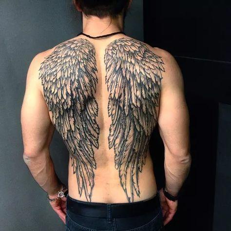 Immagine Tatuaggi Con Ala Di Angelo Di Vinicius Martins Su Minhas