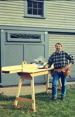 new yankee workshop radial arm saw. chop saw workstation from new yankee workshop - featuring the craftsmanship of master carpenter norm abram | diy home improvement pinterest saw, radial arm