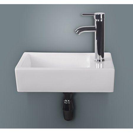 Home Improvement Wall Mounted Bathroom Sinks Bathroom Sink