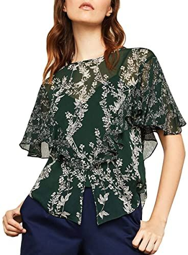Chic BCBG Max Azria Womens Chiffon Printed Blouse Fashion Womens Clothing. [$56.99] featuredtopbuy from top store