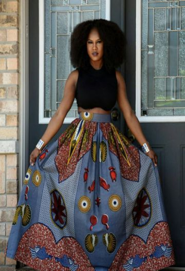 Jupe Wax Moderne Jupe Pas Chere En Pagne Sagnsefrance Com Jupe En Wax Mode De Motifs Africains Affiche Africaine