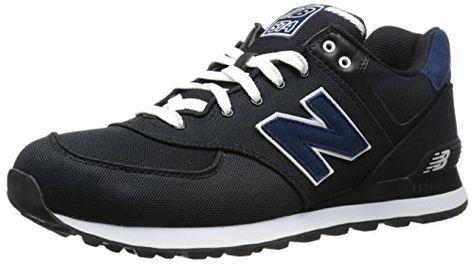313751 60, Sneakers Basses homme, Noir (Black/001), 41.5 EUNew Balance