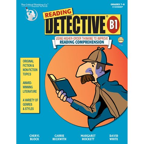 Reading Detective Book B Gr 7-9