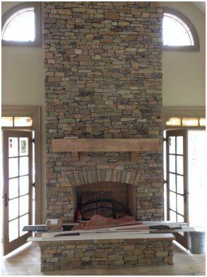 Trend Deko Kamine Stone Veneer Fireplace Stacked Stone