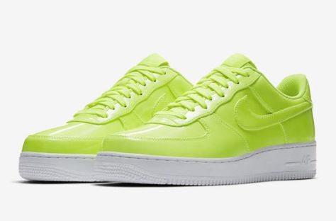 More Air Force 1s Covered In Patent Leather Uppers Are On