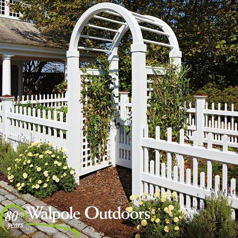 Fences And Arbors Go Great Together Walpole Outdoors Outdoor