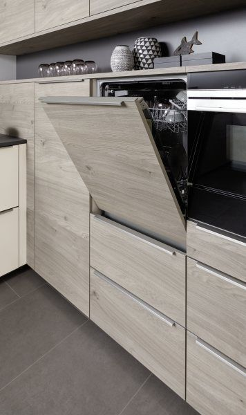 Chest Height Dishwasher Is The Perfect Choice To Save Bending Down In 2020 Nolte Kuche Deko Tisch Kuchendesign