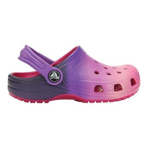 b15cfbd4b Infants Toddlers Crocs Classic Ombre Clog Kids - Pink Ombre Clogs