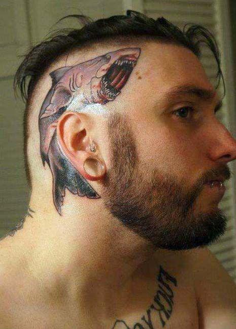 Tatuajes En La Cabeza Hombres