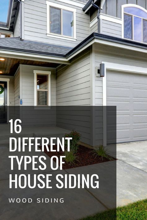 17 Different Types Of House Siding With Photo Examples House