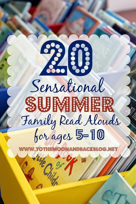 20 Sensational Summer Family Read Alouds