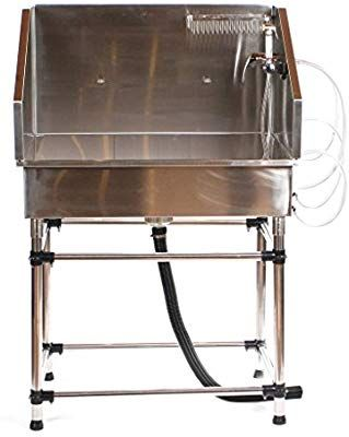 Pedigroom Professional Stainless Steel Dog Pet Grooming Bath Tub