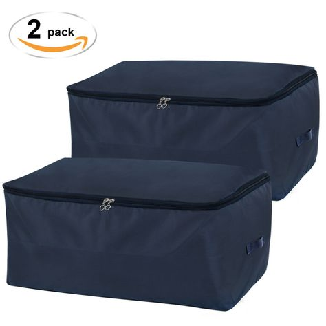 Lifewit Under Bed Storage Bag Thick Oxford Fabric Clothes