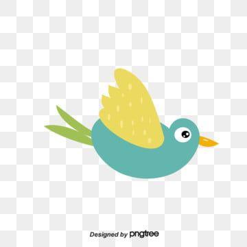 Lovely Bird With Yellow Wings Green Tail Big Eyes Flying Big Eyes Bird Pen Bird