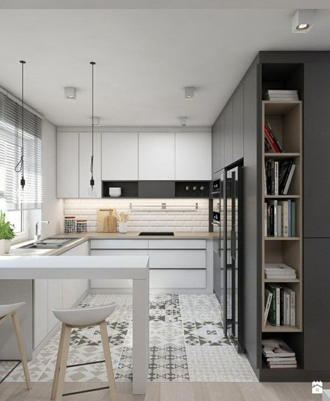 ▷ 1001 + idées pour l\'aménagement de la cuisine petit ...