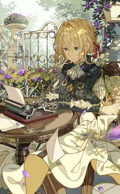Sinopsis Ada Kata Kata Yang Violet Dengar Di Medan Perang Yang Tak Bisa Dilupakannya Kata Kata Tersebut Seni Anime Animasi Gambar Manga