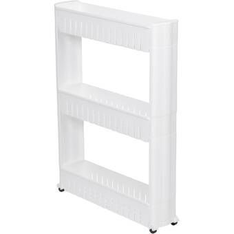 Slim 3 Tier Laundry Cart In 2020 Bathroom Storage Tower Small