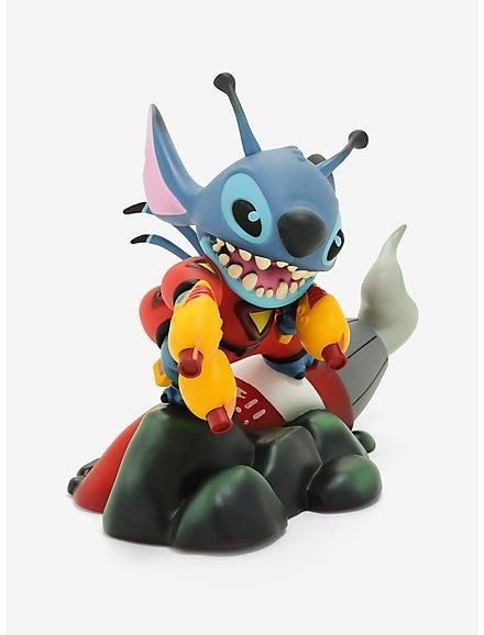 Official Disney Enchanting Collection Lilo and Stitch /'Space Adventure/' Figurine