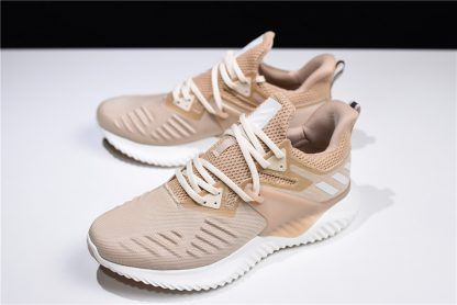 info pour 5c41d 3e18f adidas Alphabounce Beyond 2 M Beige White Mens Shoes in 2019 ...