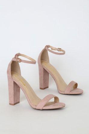 go on nude suede platform ankle strap heels