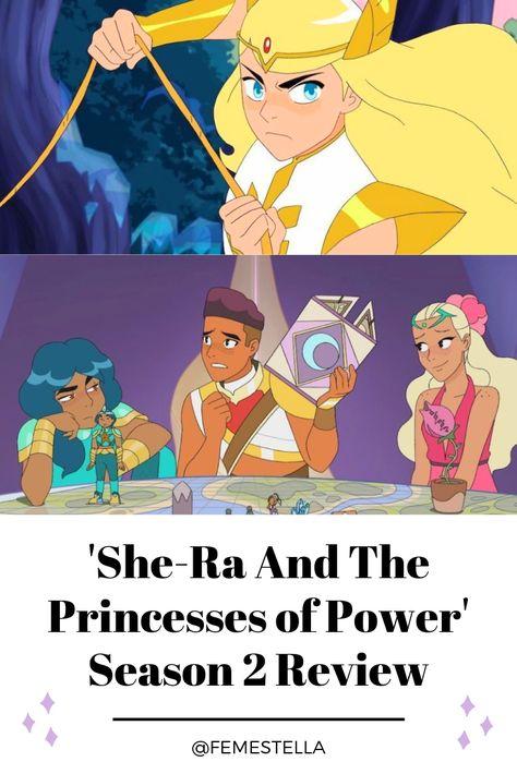 She Ra And The Princesses Of Power Season 2 Lesbian Vibes Girl