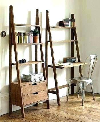Bookcase Ladder Bookcases Leaning Bookcase With Desk Bookcase Desk Combo Leaning Bookcase And Decoracao Sala Estante Com Gavetas Ideias De Decoracao Para Casa