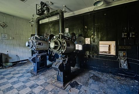Projection room by odin's_raven, via Flickr