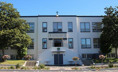 Bishop Brennan Blesses St. Monica Academy's New Campus    Read more http://pasadenanow.com/pasadenaschools/bishop-brennan-blesses-st-monica-academys-new-campus/#.VvKkBPkrLIU