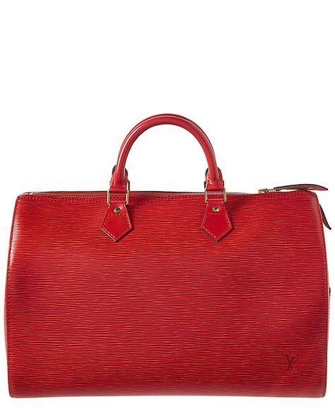 0e6b80c82d8d Louis Vuitton Red Epi Leather Speedy 35  Red