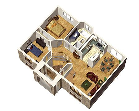 Plan 80367pm Simple Split Level Home Plan Minimalist Interior Interiors And Room