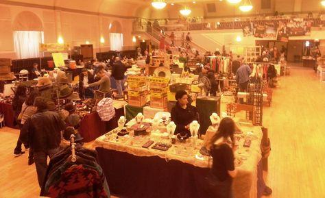 Chicago's Randolph Street Market offers a Warm Reception despite Winter's Chill