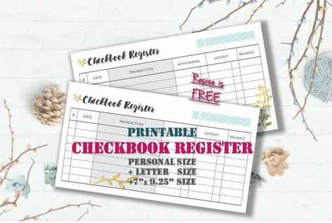 Classic Check Register Franklin Covey Pinterest Check - printable check register