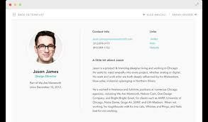 Image Result For One Page Information On Employee Biography