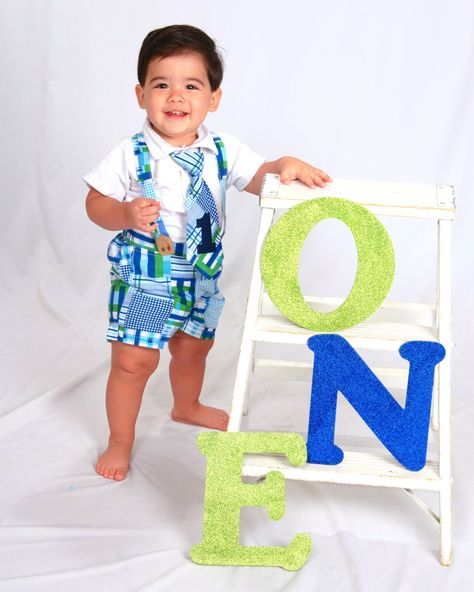 Baby Boy First Birthday 1st Smash Session Infant Photography