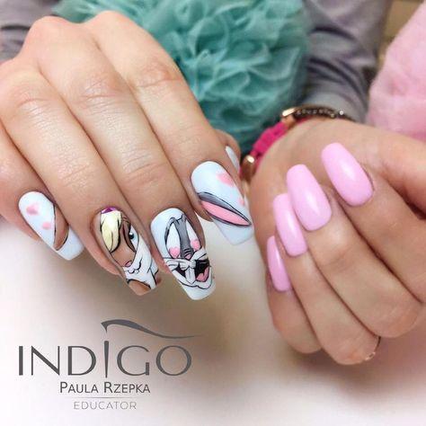 22+ Diseños de Uñas de Disney de Moda y súper Lindas - #22 #de #Diseños #Disney #Lindas, #Moda #súper #uñas #y