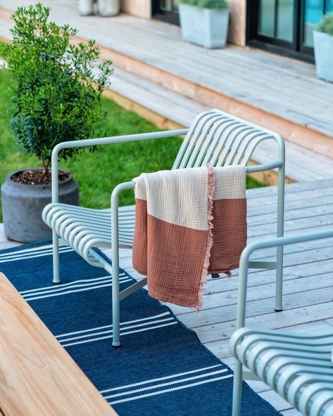 Outdoor Living Area at the Beach House - Bright Bazaar by Will Taylor
