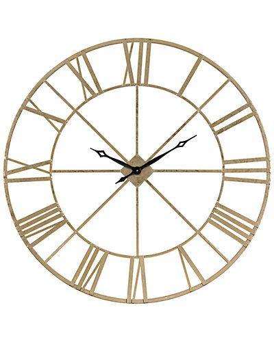 Artistic Home Lighting Pimlico Wall Clock Gilt Wall Clock Clock Home Lighting