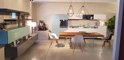 Cucina e living Lago@Linea Arredamenti Siena   Esposizione ...