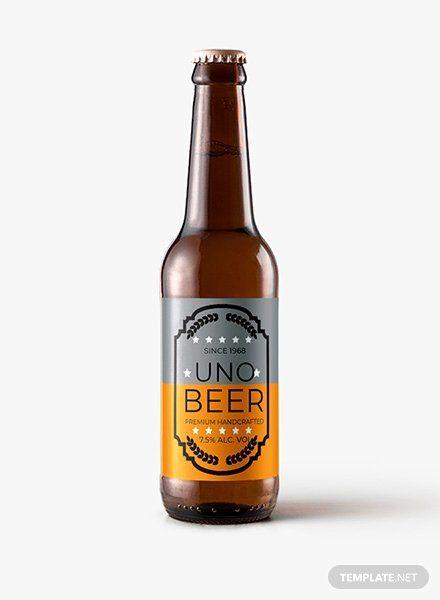Beer Label Template Word Luxury Free Sample Beer Label Template In