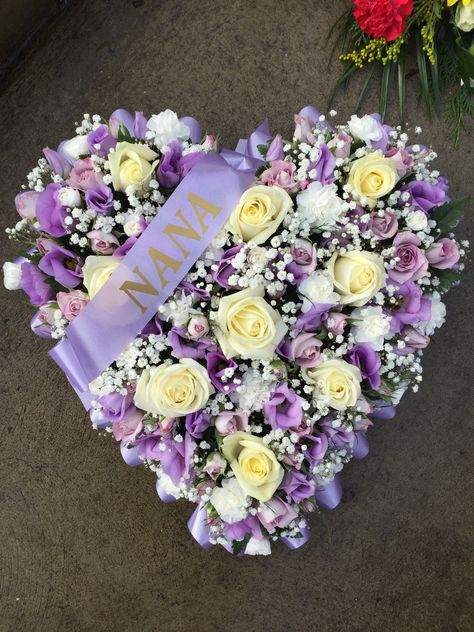 NANA Floral Oasis Foam Funeral Tribute Frame Comes with Stand