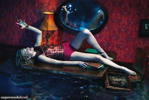 Natalia Vodianova in 'Sleep No More' - Photographed by Mert & Marcus (W December 2012)    Complete shoot after the click.