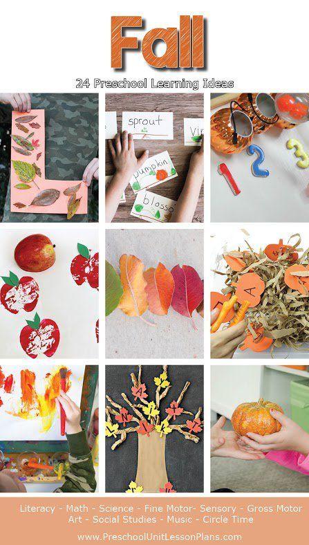 Art Lesson Plan Ideas For Preschool