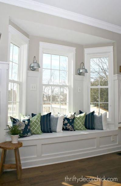 34 Ideas For Farmhouse Bench Cushion Window Seats Window Seat Kitchen Window Seat Design Home Decor Bedroom