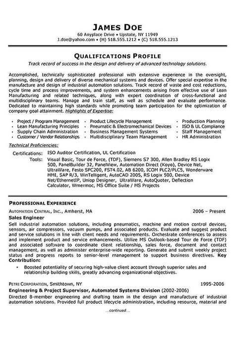 Active Directory Systems Engineer Resume resume sample - mechanical engineering resume template