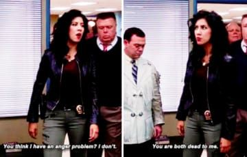 21 Rosa Diaz Moments That Are Never Not Iconic Brooklyn Nine