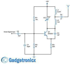 Cellphone Jammer Circuit Gadgetronicx Electronic Schematics Electronics Circuit Circuit Diagram