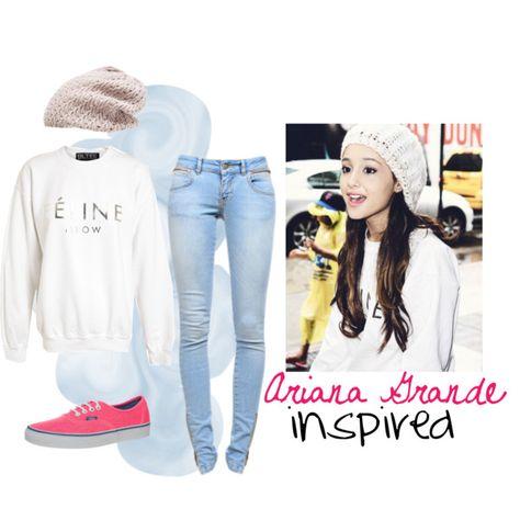 Ariana Grande style on Pinterest | Ariana Grande, Cat ...