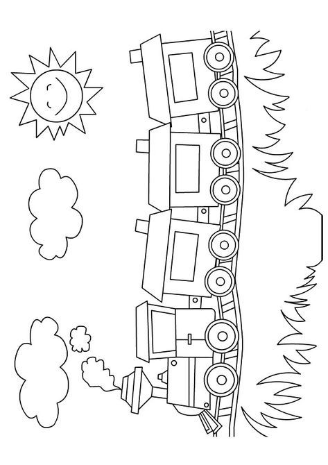 Lovely Looking Toy Train Train Coloring Pages Preschool Coloring Pages Coloring Pages