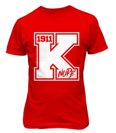 83ea439d Kappa Alpha Psi Varsity Tee - Red - Letters Greek Apparel - Black Greek  Paraphernalia - Divine Nine Greek Apparel - Atlanta Greek Store