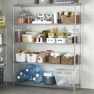Metro Commercial Industrial 5 Shelf Solution No Pantry Solutions